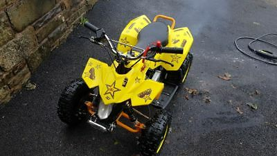 50Cc Kids Quad Bike With High Compression Race Engine. No Reserve