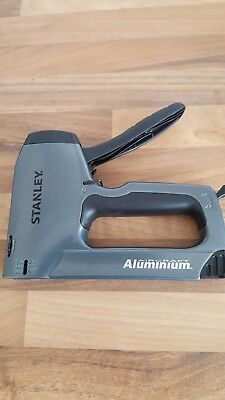 Stanley Sharp Shooter Plus Heavy-Duty Staple/Nail Gun 0-TR250 Aluminium Anti Jam