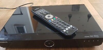 Humax HDR FOX T2 Freeview + HD 500GB + Remote Excellent Working Condition