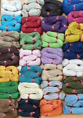 Waxed Cotton Cord 1mm  10Metre  Buy 3 Get 3 Free 32 Colours