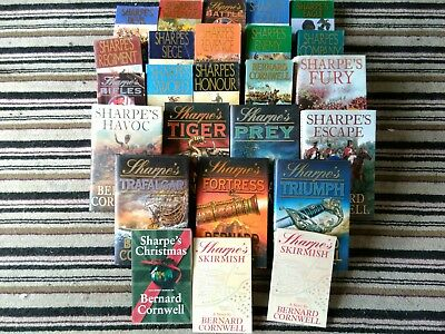 Collection of Sharpe novels