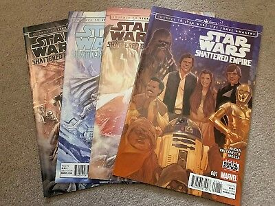 Star Wars Shattered Empire Complete Series #1-4 NM Marvel Comics