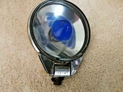 Vintage Notek Farlite SpotLamp Great Used Condition Working Order MODS SCOOTERS