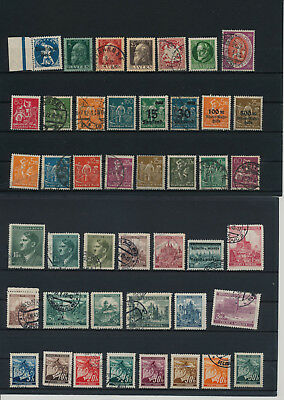 Germany, Deutsches Reich, Nazi, liquidation collection, stamps, Lot,used (AL 10)