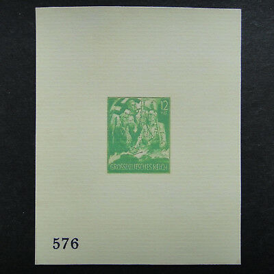 Germany Nazi 1940 1942 1944 1945 ? Stamp MINT Imperf Sheet Feldpost WWII Third R