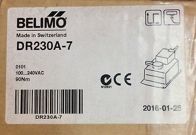 Belimo 2x DR24A-7, 1xDR230A-7