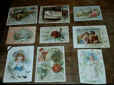 1890s Vintage Victorian Trade Card Lot-LION COFFEE Woolson Spice Co., Toledo, OH