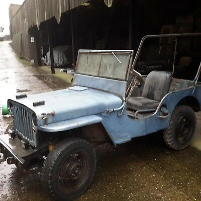Willys jeep 1945 M38 military vehicle classic car barn find