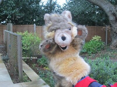 Long Sleeve Wolf Hand Puppet - the Puppet Company