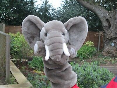 Elephant Hand Puppet by The Puppet Company