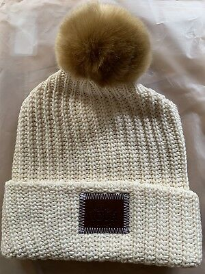 da60858c4f0  BRAND NEW  Love Your Melon Cuffed Pom Beanie Hat