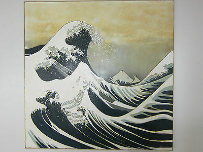 """The Great Wave Off Kanagawa"" 4' x 4' One of A Kind High Quality Oil Painting"