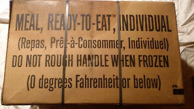 Us Army Mre Meal Ready To Eat 3/21 , 12 Stück 1 Karton