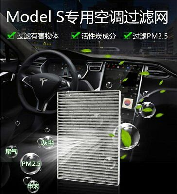 Car Automotive air conditioning filter Activated carbon filter for Tesla Model S