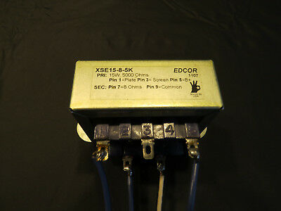 Edcor Output transformer