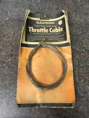 Classic Mini Alexander Throttle Cable, MG Midget,Austin Healey,Austin Morris,BMC