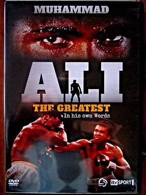 Muhammad Ali, The Greatest, In his own Words, DVD New item still sealed.