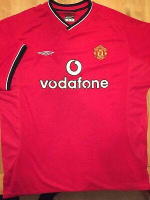 Manchester United Vintage Home Shirt (XL) 48""
