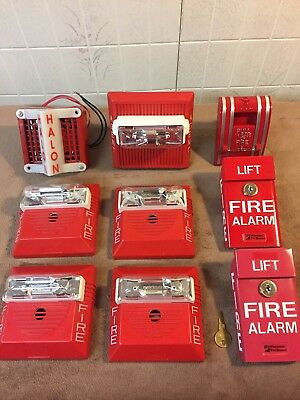 Used Fire Alarm Parts