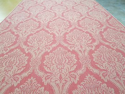 Fabricut Fabric Pattern Toland Damask Garnet 3.8 Yd x 56 In Upholstery Graphic
