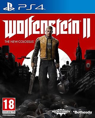 Wolfenstein 2: The New Colossus Ps4 ((DigitalGame)) Primary