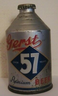 Gerst 57 Premium Beer Crowntainer Beer Can Original Cap