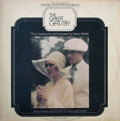 Nelson Riddle ‎– The Great Gatsby (Original Soundtrack Recording) Vinyl LP Vinil