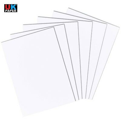 A2 A3 A4 A5 A6 White Card Thick Paper Cardboard Printer Copier Crafts Sheets Gsm