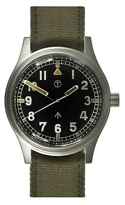 MWC W10 | 1940's to 1960's GENERAL SERVICE WATCH  | RETRO DIAL | 24 JEWELS AUTO