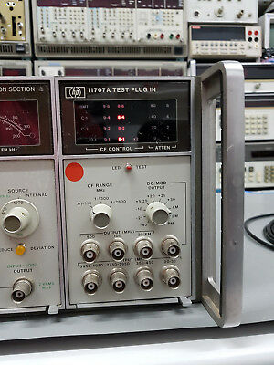 HP 11707A,Test Plugin für HP 8660C, Synthesized Signal Generator, extrem selten