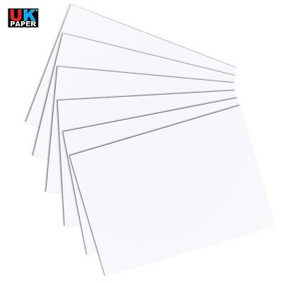 A2 A3 A4 A5 A6 White Card Making Thick Thin Paper Cardboard Printer Sheet Crafts