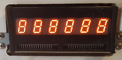 Bally / Stern Pinball 6-Digit display