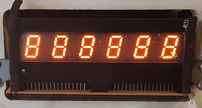 Stern / Bally Pinball 6-Digit display