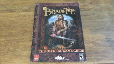 Book gaming - The Bards Tale - Official Game Guide - Prima - Secrets & Cheats
