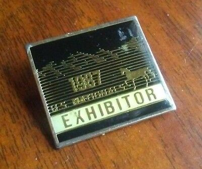 Vintage 1987 US National AHA Horse Show Exhibitor Pin
