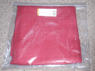 """Longaberger 36"""" TABLE SQUARE OR OVERLAY in """"Paprika"""" Fabric, NEW!"""