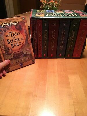 """Harry Potter Complete Book Series Books 1-7 + """"The Tales of Beedle The Bard"""""""