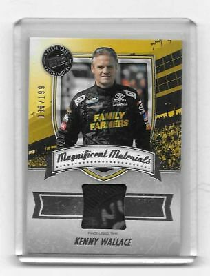 2011 Press Pass FanFare Magnificent Materials Kenny Wallace 38/199 TIRE