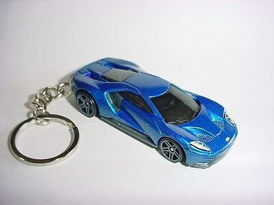New D Blue  Ford Gt Custom Keychain Keyring Key Shelby Roush Backpack