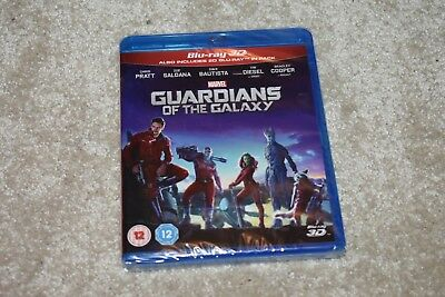 Guardians of the Galaxy (Blu-Ray 3D) New & Sealed