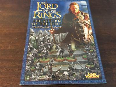 Games Workshop The Lord of the Rings The Return of the King Strategy Battle Game