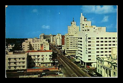 Dr Jim Stamps Us North View Collins Avenue Miami Beach Florida Postcard