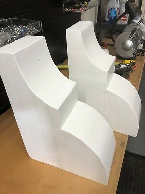 LARGE CORBELS / BRACKETS Set of 2 WHITE