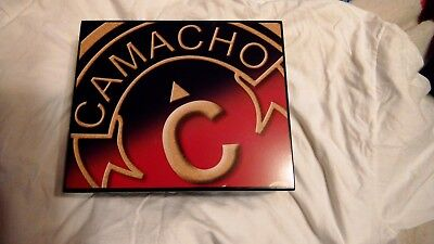 Solid Wood Cigar Box Humidor CAMACHO with Humidifier