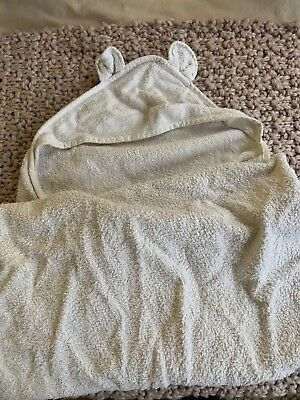Baby towel hooded The White Company