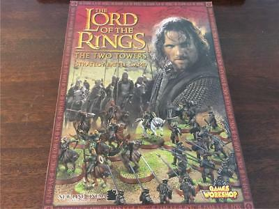 Games Workshop The Lord of the Rings The Two Towers Strategy Battle Game