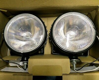 Spotlights with 4x4 grills (Unbranded)