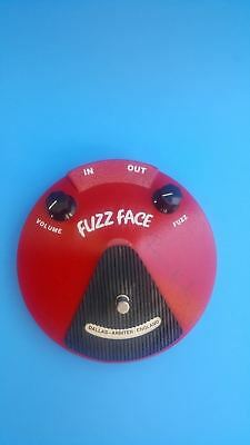 Fuzz Face Distortion Effect Pedal DALLAS ARBITER ENGLAND w/ Signatures