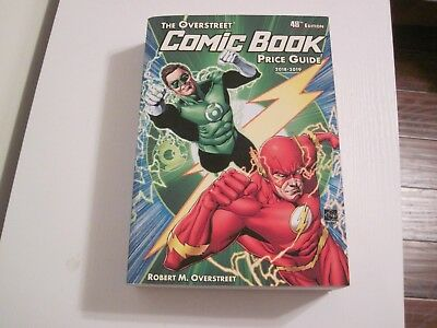 Overstreet Comic Book Price Guide 2018-2019 48th Edition softccover - used