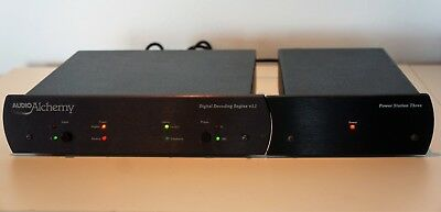 AUDIO ALCHEMY DDE V1.1  DAC with Premium Power Station 3 Supply